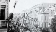 Koningin Wilhelmina bezocht Arnhem