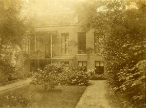 Buitenrust omstreeks 1935