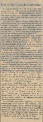 Wijkhuis Steenstraat 12-12-1941