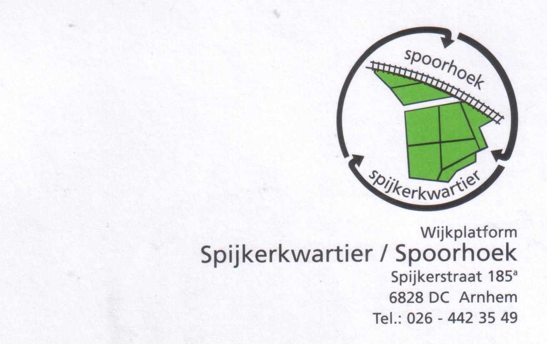 De jaren negentig – het logo Spijkerkwartier weer even terug in beeld.